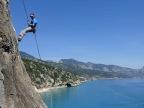 Rock Climbing in Sardinia, baby-friendly