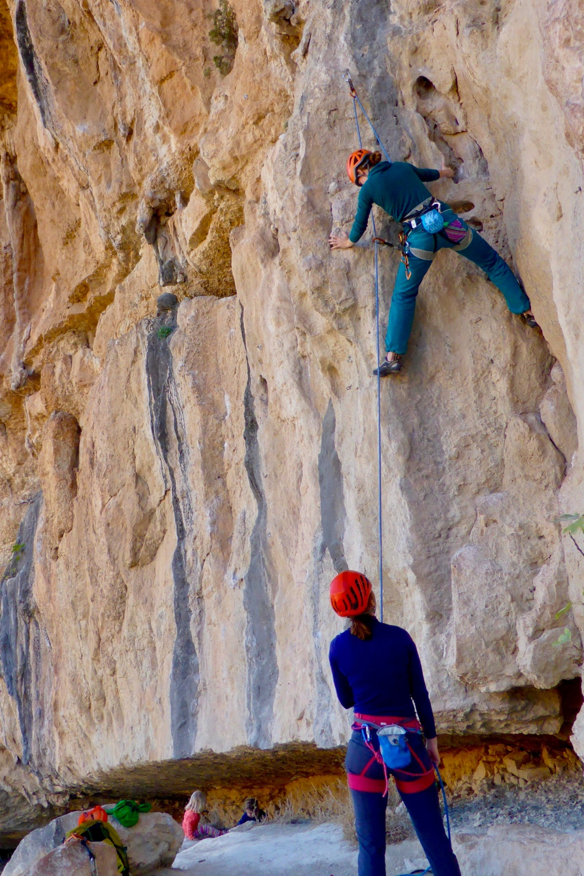 climbing moms