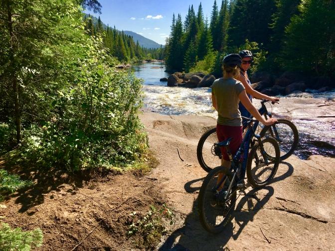 riding la Neilson- vallée bras du nord
