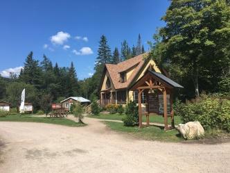 the Welcome Centre - Vallée Bras du Nord