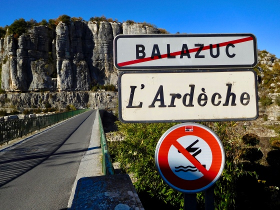 Balazuc, un des plus beaux villages de France