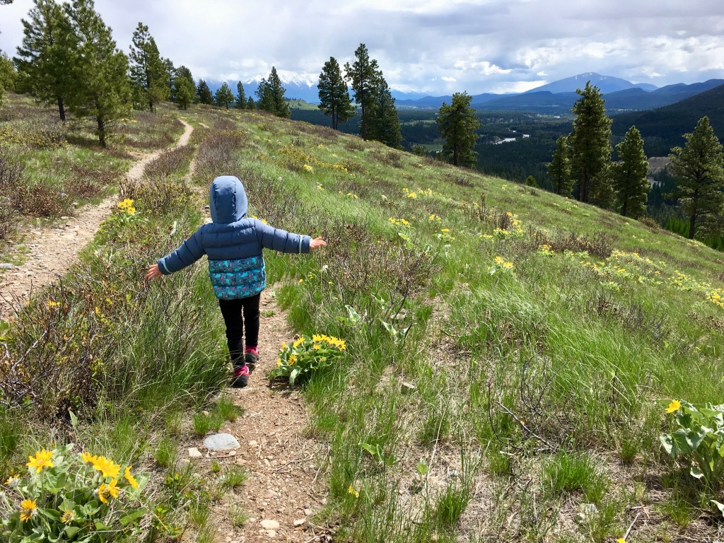 Mother's Day Family Hike on Sunflower Hill